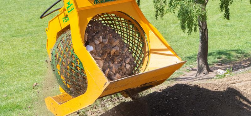 Landscaping Screening Bucket