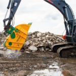 Crusher Bucket for 25T Excavator 2