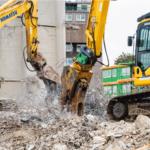 Hydraulic Rotating Pulveriser for 21T Excavator 7